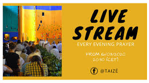 Live Taize Evening Prayer